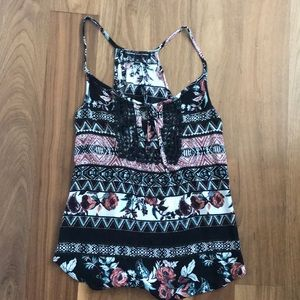 Colorful, patterned tank top